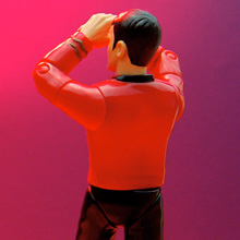 the pitiable Star Trek redshirt